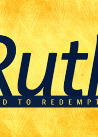 Ruth:  Road to Redemption
